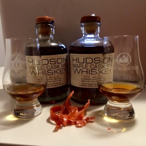 Tuthilltown Spirits Hudson Maple Cask Rye Whiskey